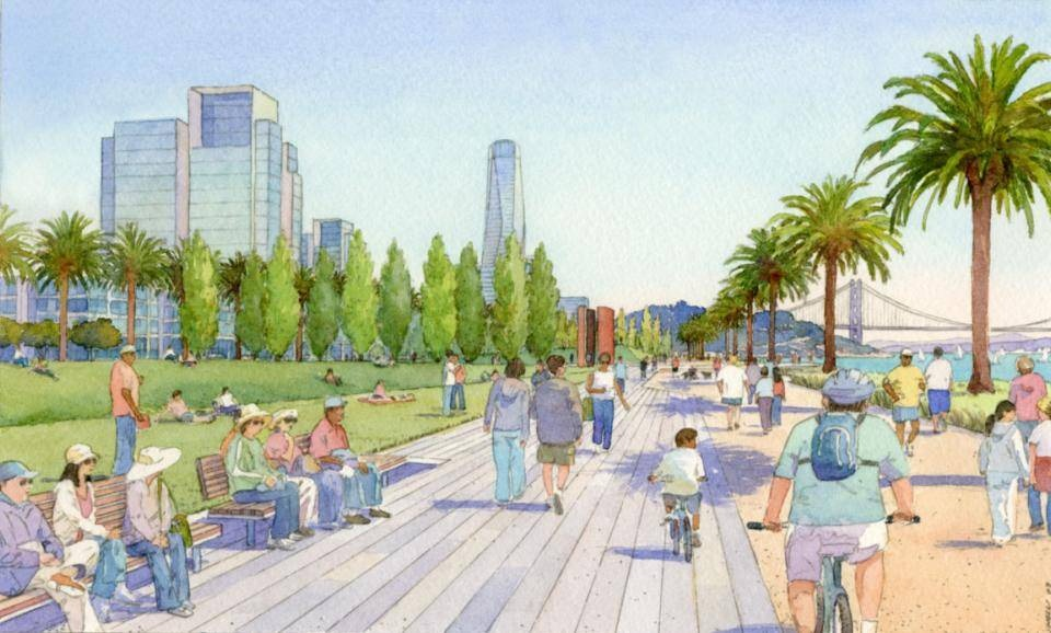 Drawing of Cityside Park